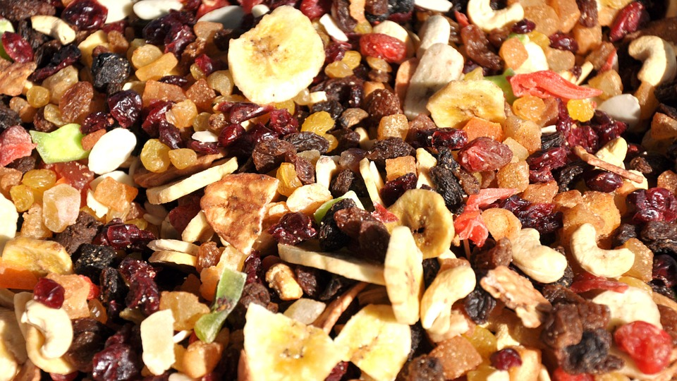 iron rich foods dried fruit