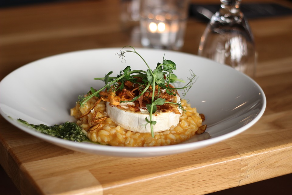 tasty foods risotto