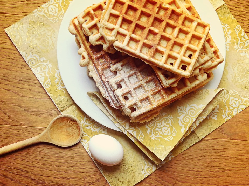 Homemade Healthy and Delicious Waffle Recipe
