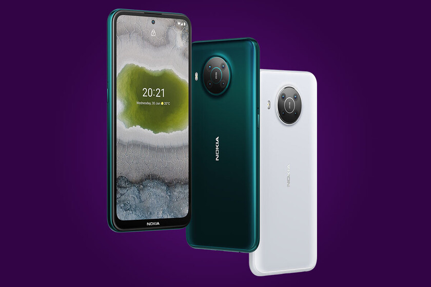 Nokia X10 and Nokia X20: Nokia's most ambitious are two 5G mobiles with Android One and quad camera