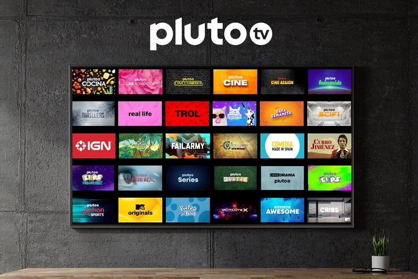Pluto TV on Android TV: free streaming channels and no registration
