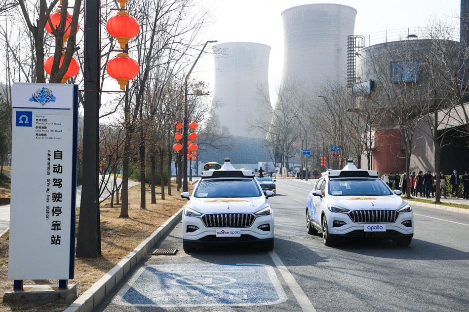 Baidu launches fully autonomous taxi service in Beijing